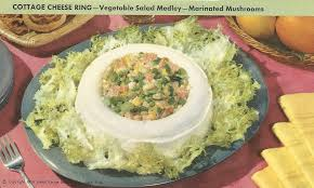 Cottage Cheese Onion Dip by Cottage Cheese Ring Vintage Recipe Cards