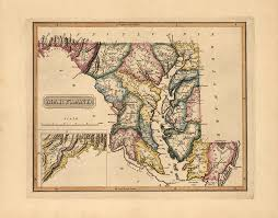 me a map of maryland map catalog charles a reeves jr