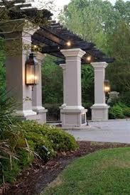 Patio Pillar Lights Sarasota Carolina Collection Carolina Lanterns Gas Lanterns