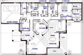 country floor plans one story open floor plans with 4 bedrooms australian 4 bedroom