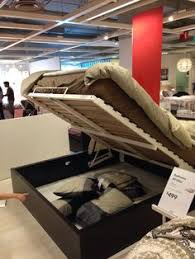 max ottoman bed to store out of season clothes sleeping bags