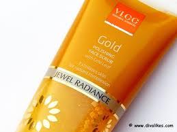 Scrub Gold vlcc sciences gold polishing scrub review likes