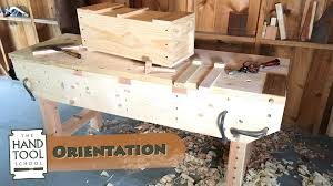 introductory hand tool woodworking course hand tool orientation