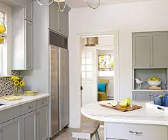 Yellow And White Kitchen Cabinets Gray Kitchen Cabinets