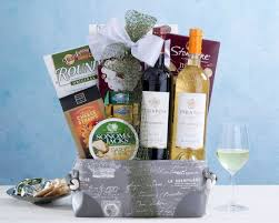 Country Wine Basket Stella Rosa Semi Sweet Wine Assortment Gift Basket At Wine Country