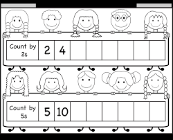 skip counting by 2 and 5 u2013 worksheet free printable worksheets