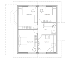 small house plan ch38 detailed building model and floor plans