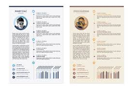 Creative Resume Templates Free Download Resume Template Free For Graphic Designers Illustrator Ai Amp