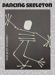 Halloween Skeleton Craft by 30 Easy Halloween Crafts For Kids In 2017
