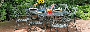 woodard delphi cast aluminum patio furniture collection usa