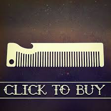metal comb metal comb bottle openers for beard and hair familiar comb