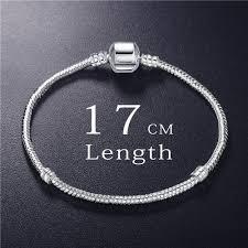 charm snake bracelet images Anfasni new fashion love snake chain silver color fit original jpg