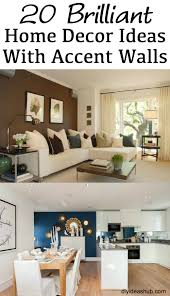 Accent Home Decor Home Decor Ideas With Accent Walls