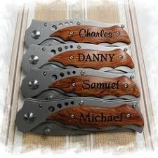 Wedding Gift Knife Set One Groomsmen Gift Personalized Knife Knives Custom Knife