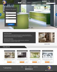 home renovation websites home renovation company general contractor landing page by