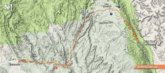 Escalante Utah Map by Hayduke Alt Via Escalante East Upper Muley The Gulch U2013 Across Utah