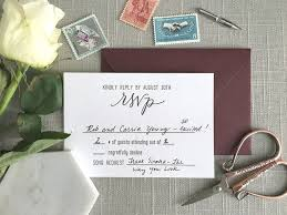 wedding invitations with rsvp cards included 6 common questions about wedding rsvp cards elisaanne calligraphy