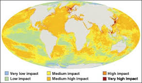 map world oceans news science nature map shows toll on world s oceans
