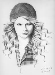 portrait of taylor swift by red2207 on stars portraits 6