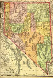 printable map of nevada nevada map and nevada satellite images