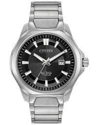 titanium bracelet watches images Citizen eco drive mens titanium watch black dial bracelet jpg