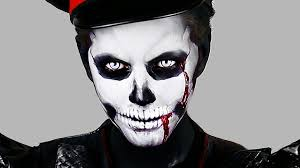 zombie skull makeup halloween tutorial youtube