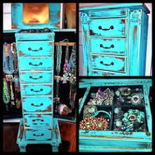 western jewelry armoire i used chalk paint distressing antique glaze and wax to refinish