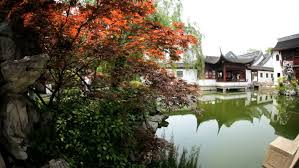 chenghuang miao temple town god garden old walled city no people