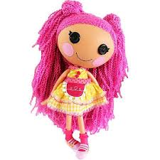 lalaloopsy loopy hair lalaloopsy silly hair doll crumbs sugar cookie what s it worth