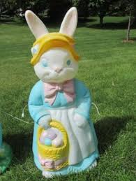 Blow Molded Easter Decorations Sale by Here Comes Peter Cottontail U2026he U0027s Ready To Light Up Your Easter