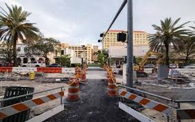 miracle mile work in coral gables drags as merchants lose business