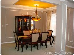 Built In Cabinets In Dining Room Dining Room Built Ins From Thrifty Decor