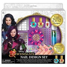 amazon com disney descendants nail design set toys u0026 games