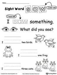 kindergarten reading comprehension worksheets kindergarten
