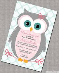baby owl shower invitations zdornac info