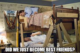 Did We Just Become Best Friends Meme - did we just become best friends step brothers activities