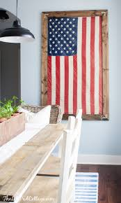 flag decorations for home amazingly easy american flag decor ideas you to try this