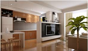 Kitchen And Living Room Designs Interior Design Small Living Room With Kitchen Interior Design