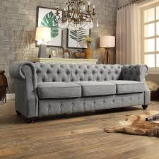 Tufted Chesterfield Sofa by Olivia Sofa Bed Review Memsaheb Net