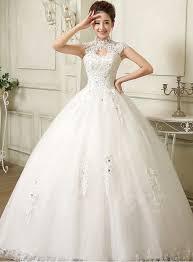 high neck halter wedding dress high neck gown applique wedding dress tbdress