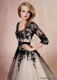 Black Homecoming Dresses With Sleeves Long Black Formal Dresses With Sleeves 2016 2017 B2b Fashion