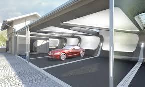 modern home design car garage elevator lift and haammss