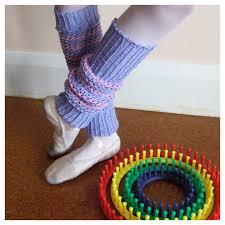 fitzbirch crafts knifty loom knit leg warmers