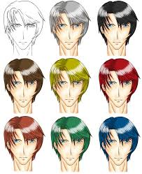 anime long hairstyles male best hair style