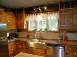 kitchen rustic kitchen brown high ceiling u shaped dual sinks