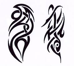 tribal tatoo clipart