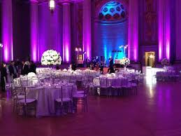 purple decorations wedding decoration ideas indoor reception purple and silver