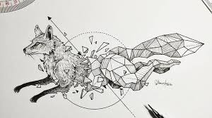 these u0027geometric beasts u0027 sketches will blow your mind nerdist