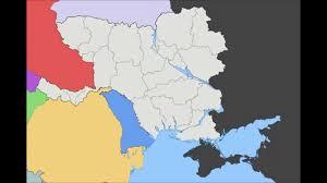 Map Ukraine Alternate Future Map Of Ukraine Youtube