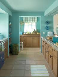 kitchen style simple galley kitchen turqoise painted kitchen wall